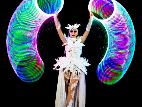 flow toys, moodhoops, led hoop, hoop flow, mini future hoop, light show, psychedelic hula hoop, best led hoop, led hooping patterns, trippy led hoop, psychedelic led hoop, future hoop patterns, led props patterns, led hoops sacred geometry, led props show, trippy led props, music festival hula hoop