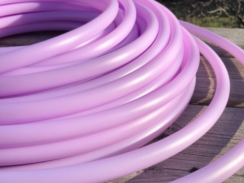 cheap hula hoop, HDPE hoop, custom hula hoop, beginner hula hoop, festival hoop, purple hula hoop,