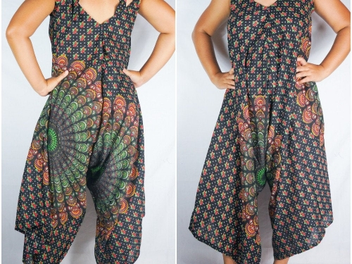 Boho Jumpsuit, Boho Clothing, Swimsuit Cover Up, Wide Leg Jumpsuit, Summer Jumpsuit, Hippie Jumpsuit, Gypsy Jumpsuit, Women's Jumpsuit, jumpsuit romper, hippie dress,