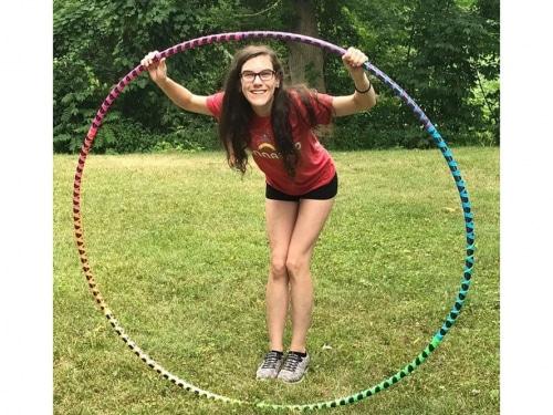 huge hoop, huge hula hoop, giant hoop, giant hula hoop, big hula hoop, party hula hoop, rainbow hula hoop,