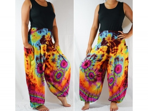 Cotton Harem Pants Follow Your Flow Sacred Flow Art