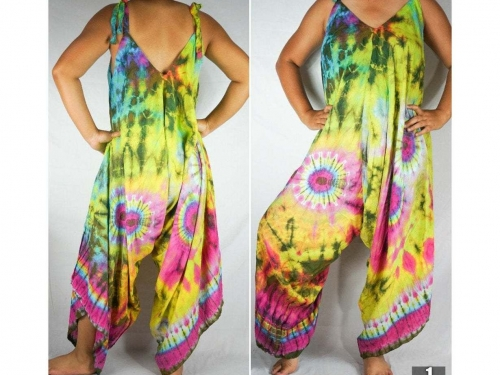 tie die romper, hippie dress, Boho Jumpsuit, Boho Clothing, Swimsuit Cover Up, Wide Leg Jumpsuit, Summer Jumpsuit, Hippie Jumpsuit, Gypsy Jumpsuit, Women's Jumpsuit, jumpsuit romper