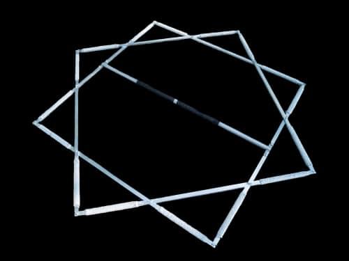 Fire Star, unique fire props, fire pentagram, fire diamond, fire star prop