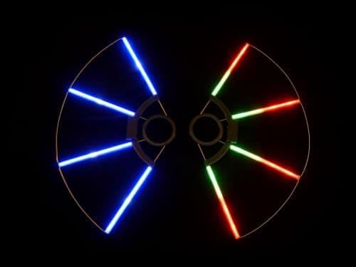 led fans, future fans, pixel fans, digital fans,