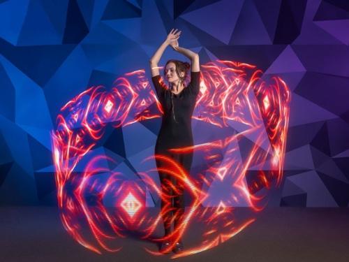 led levitation wand, led levi wand, led levitation stick, pixel wand, pixel leviwand
