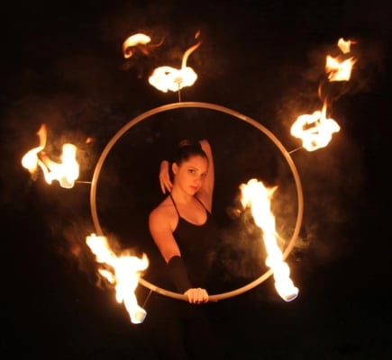 fire hooping tips, beginner fire hooping, professional fire hooping, fire hooping tips